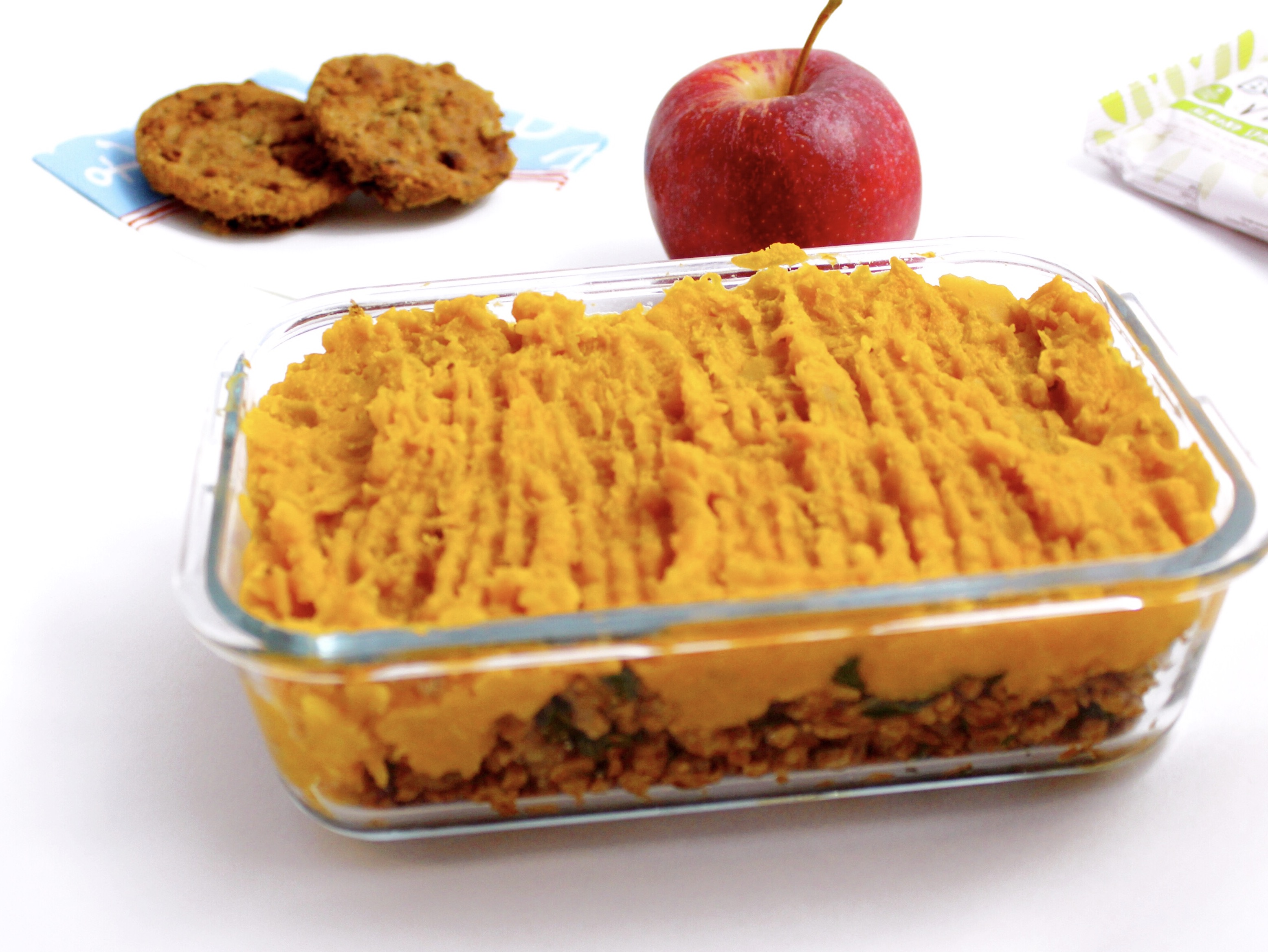 shepherds pie: perfect for vegan meal prep