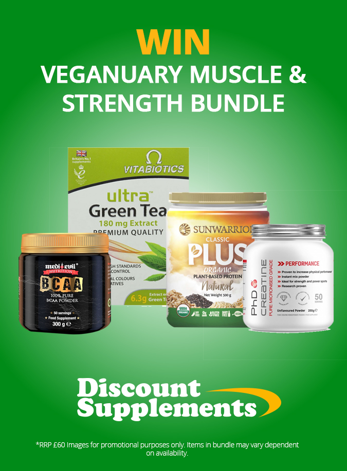 Discount Supplements - Veganuary Giveaway