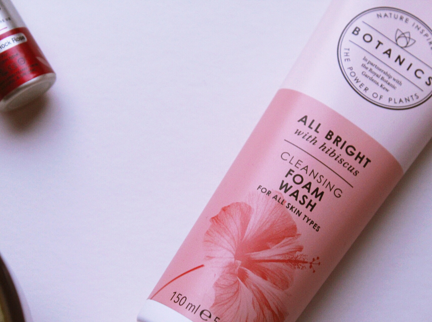 Boots Botanics All Bright Cleansing Foam Wash