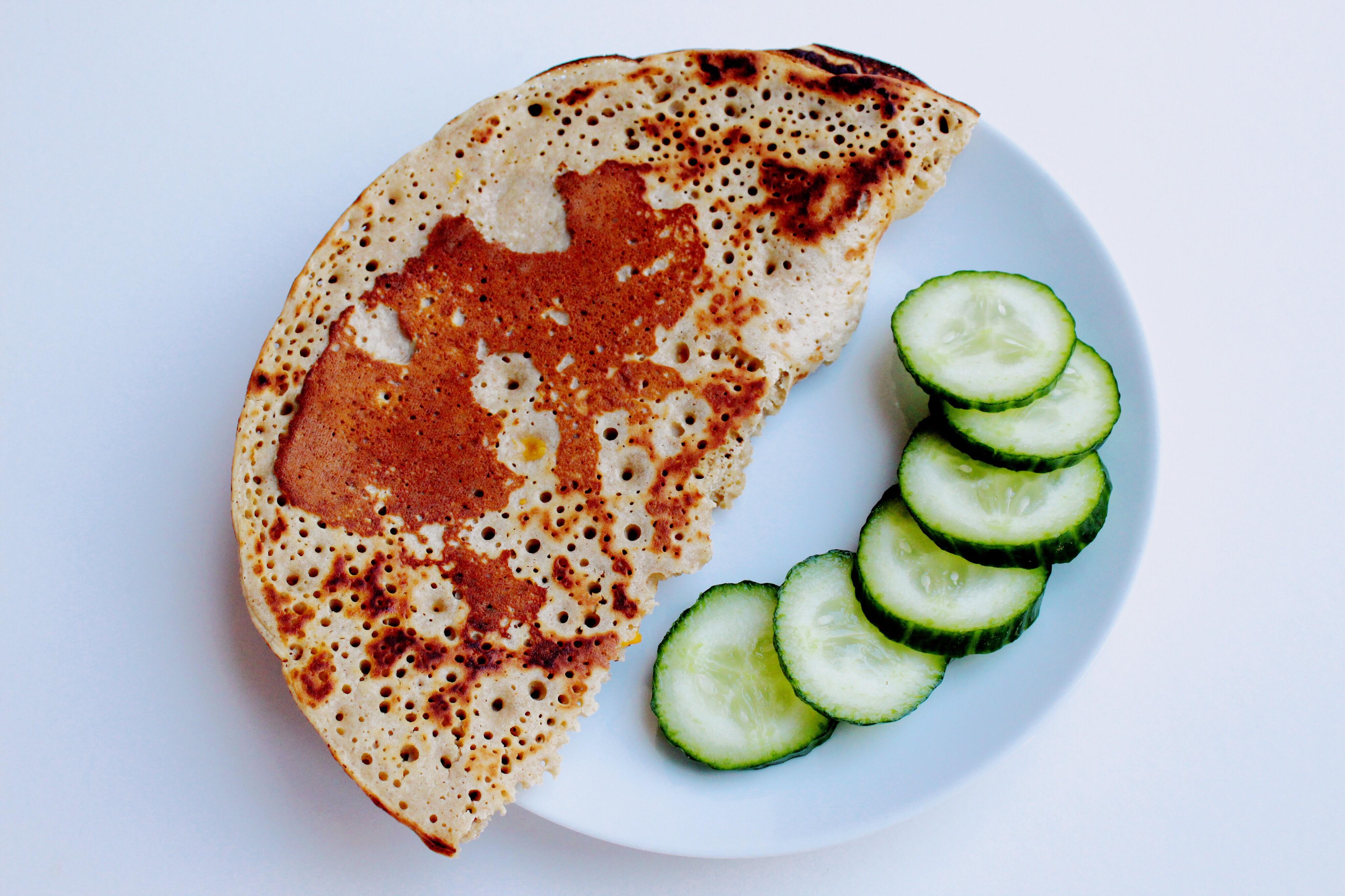 vegan buckwheat pancakes