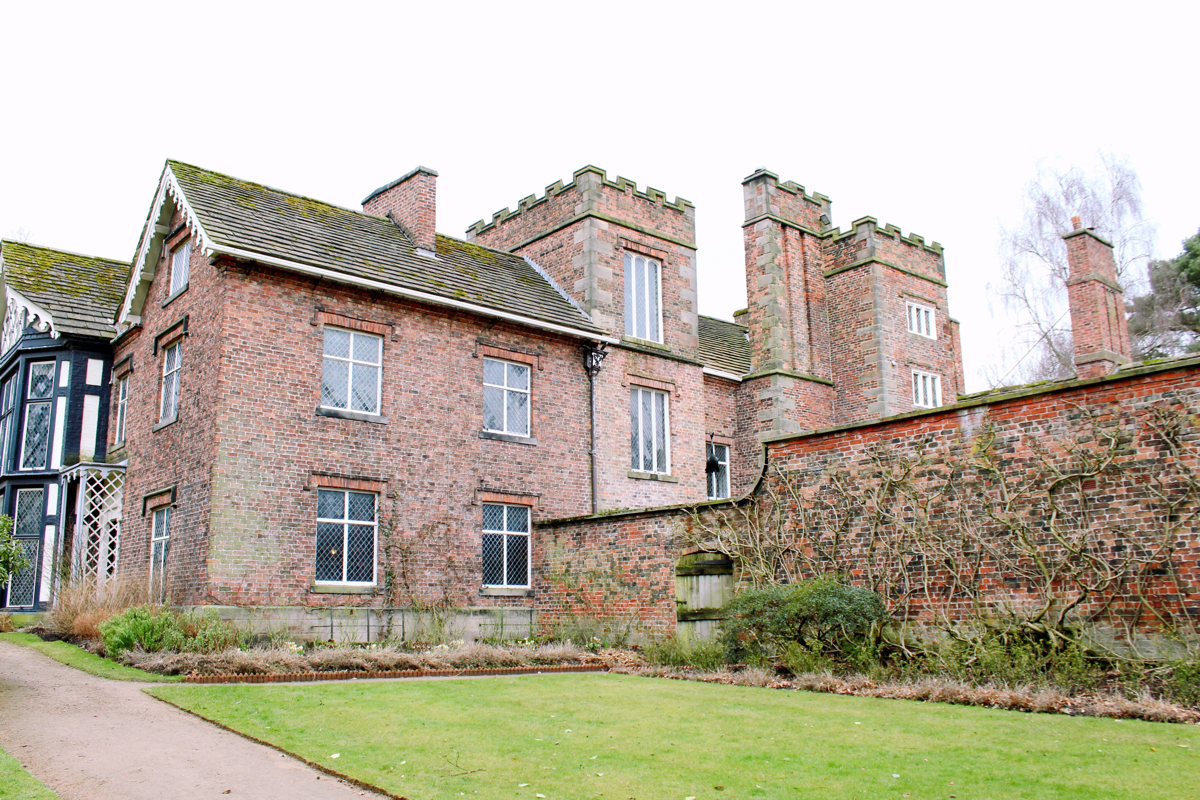 The Old Hall in Rufford