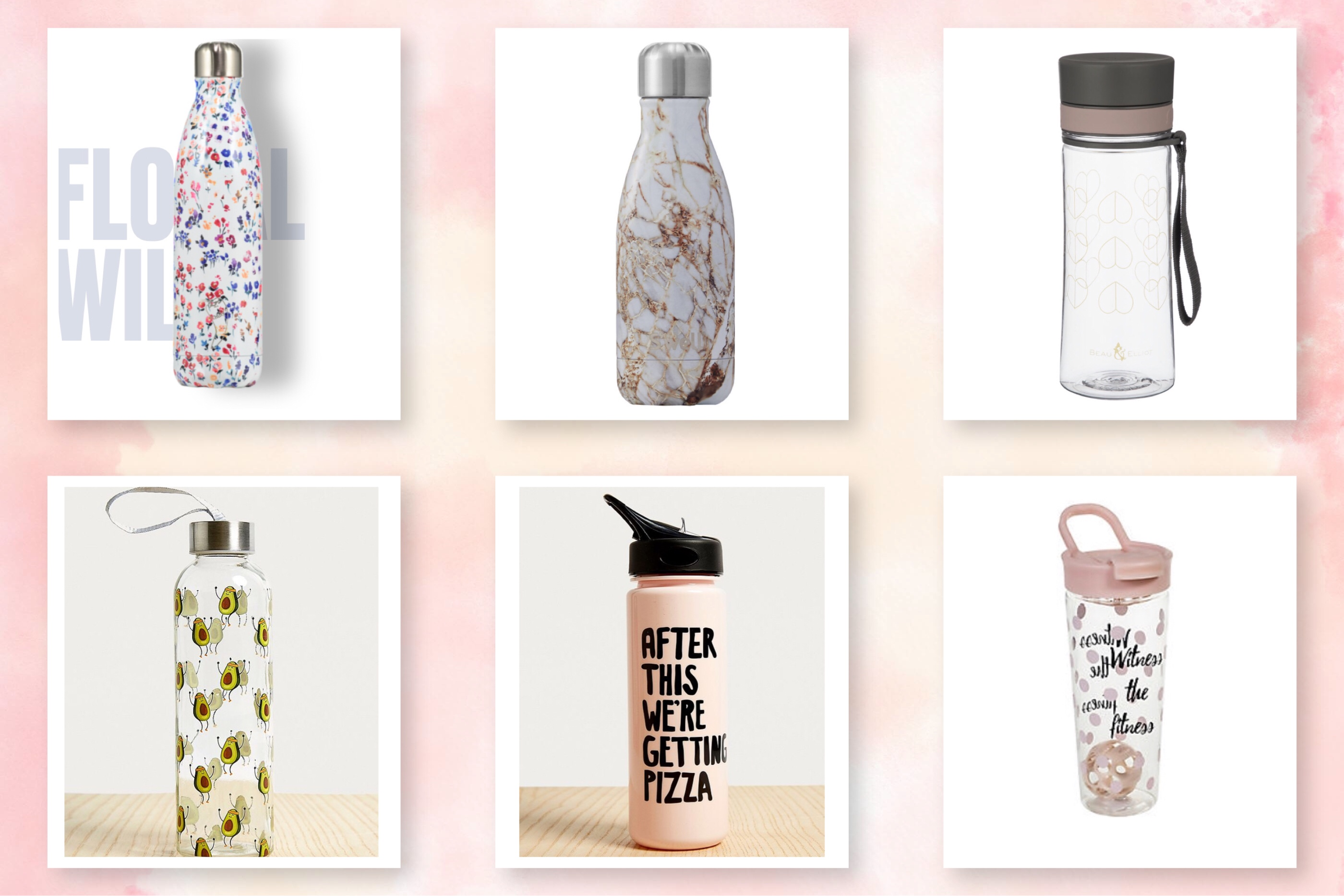 12 gorgeous reusable water bottles