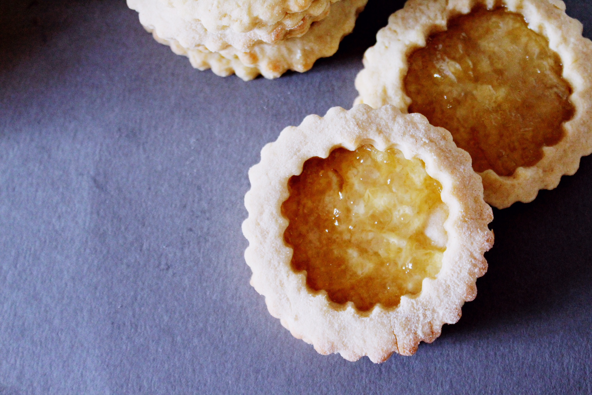 Homemade Lemon Linzer Cookies