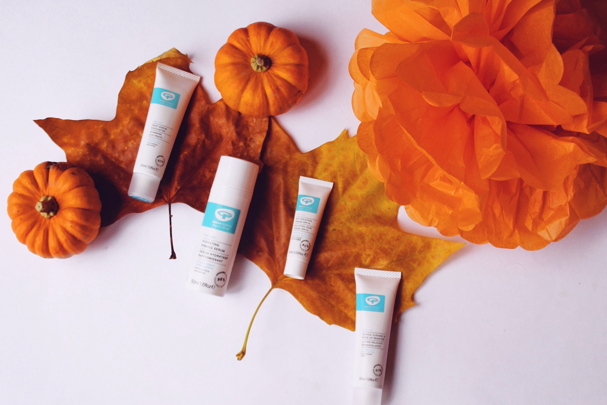 Green People Autumn Skincare