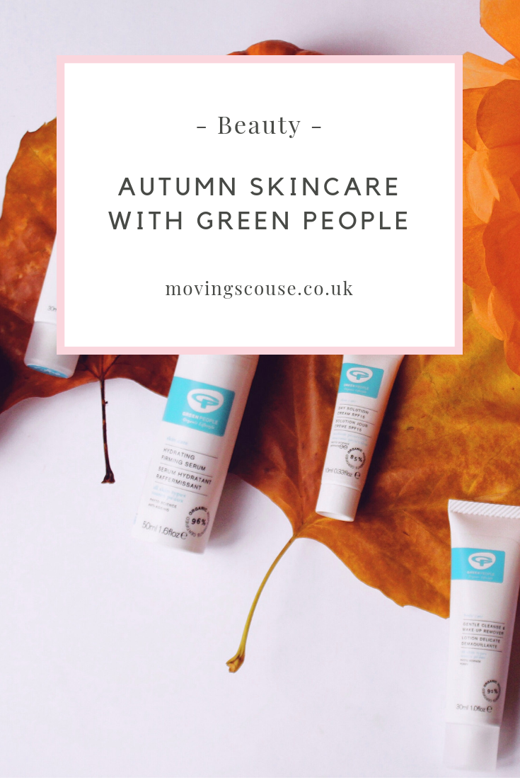 Beauty | Autumn Skincare with Green People | movingscouse.co.uk