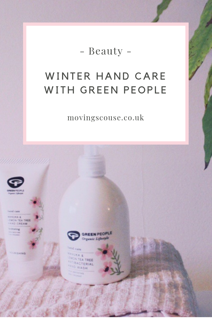 Beauty | Winter Hand Care with Green People | movingscouse.co.uk