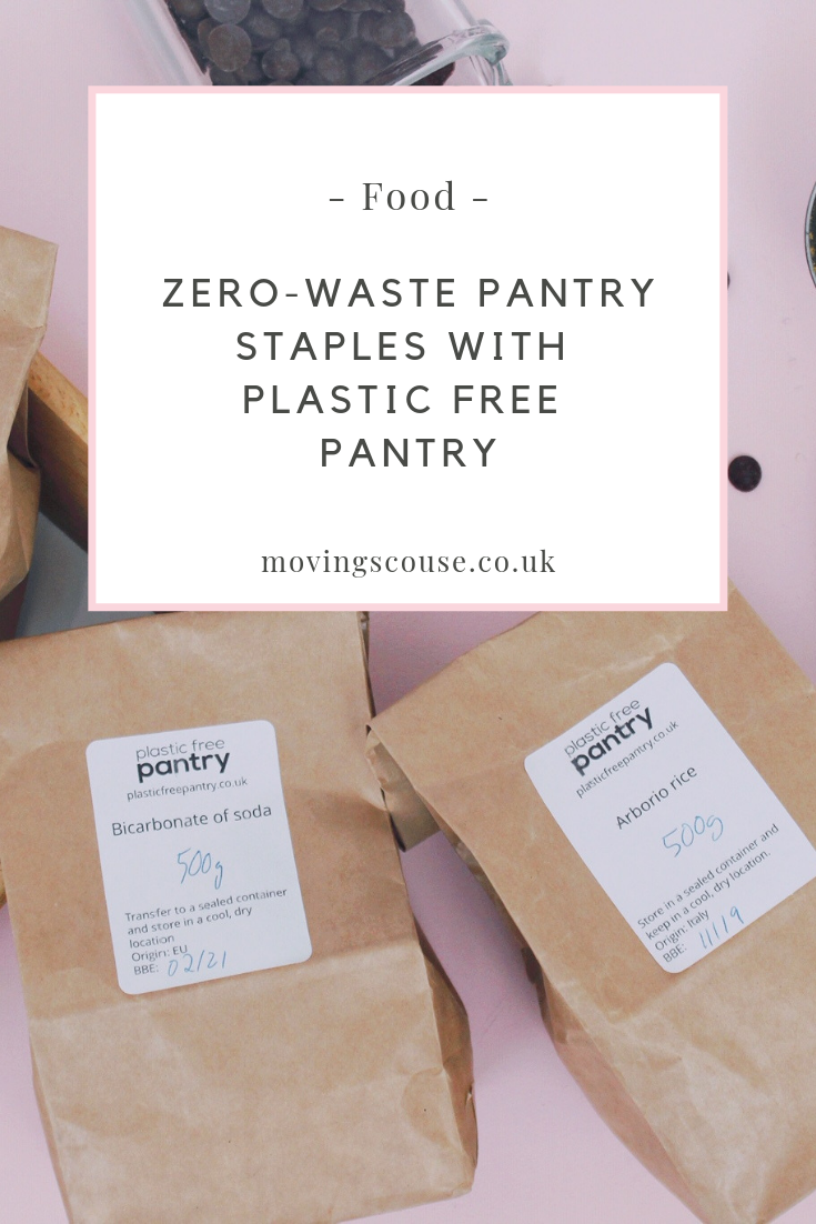 Food | Zero-Waste Pantry Staples with Plastic Free Pantry | movingscouse.co.uk