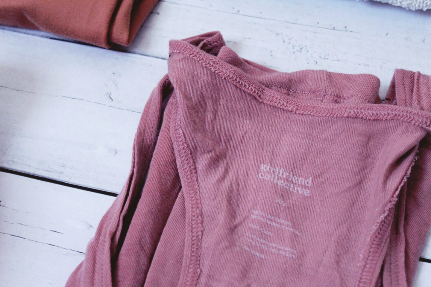 Eco-friendly gym bag - girlfriend collective top