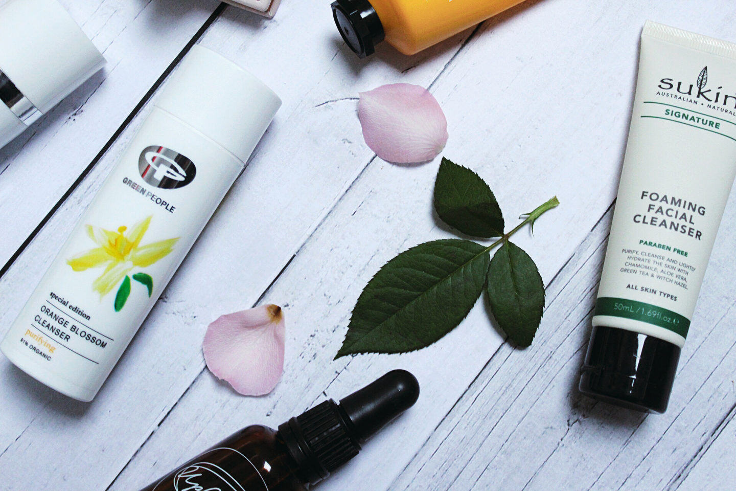 Green People, Sukin, Upcircle, Dr Botanicals - vegan skincare