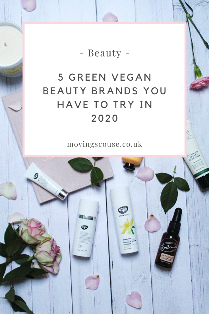 5 Green Vegan Beauty Brands You Have to Try in 2020