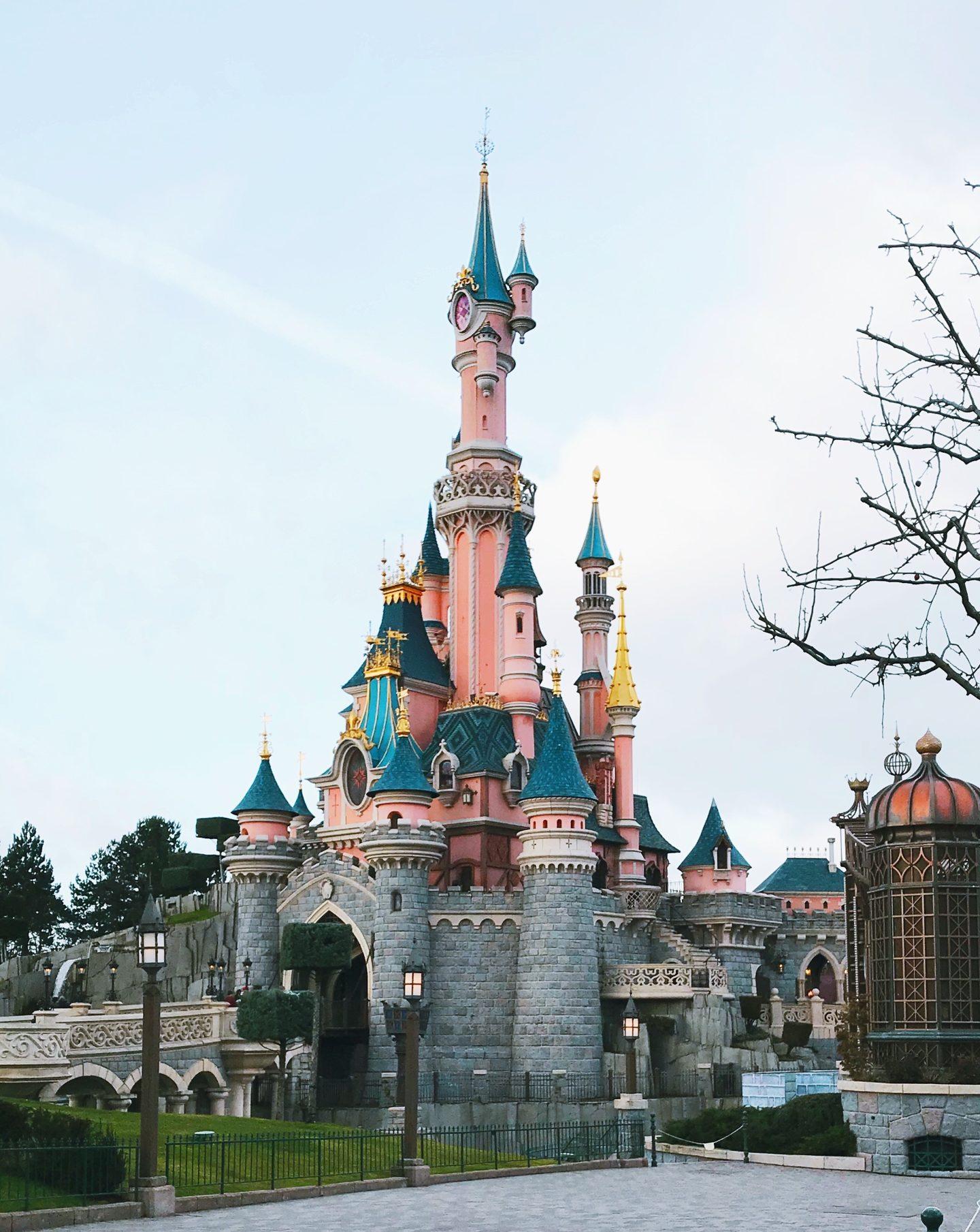 Sleeping Beauty's Castle and Disneyland Paris