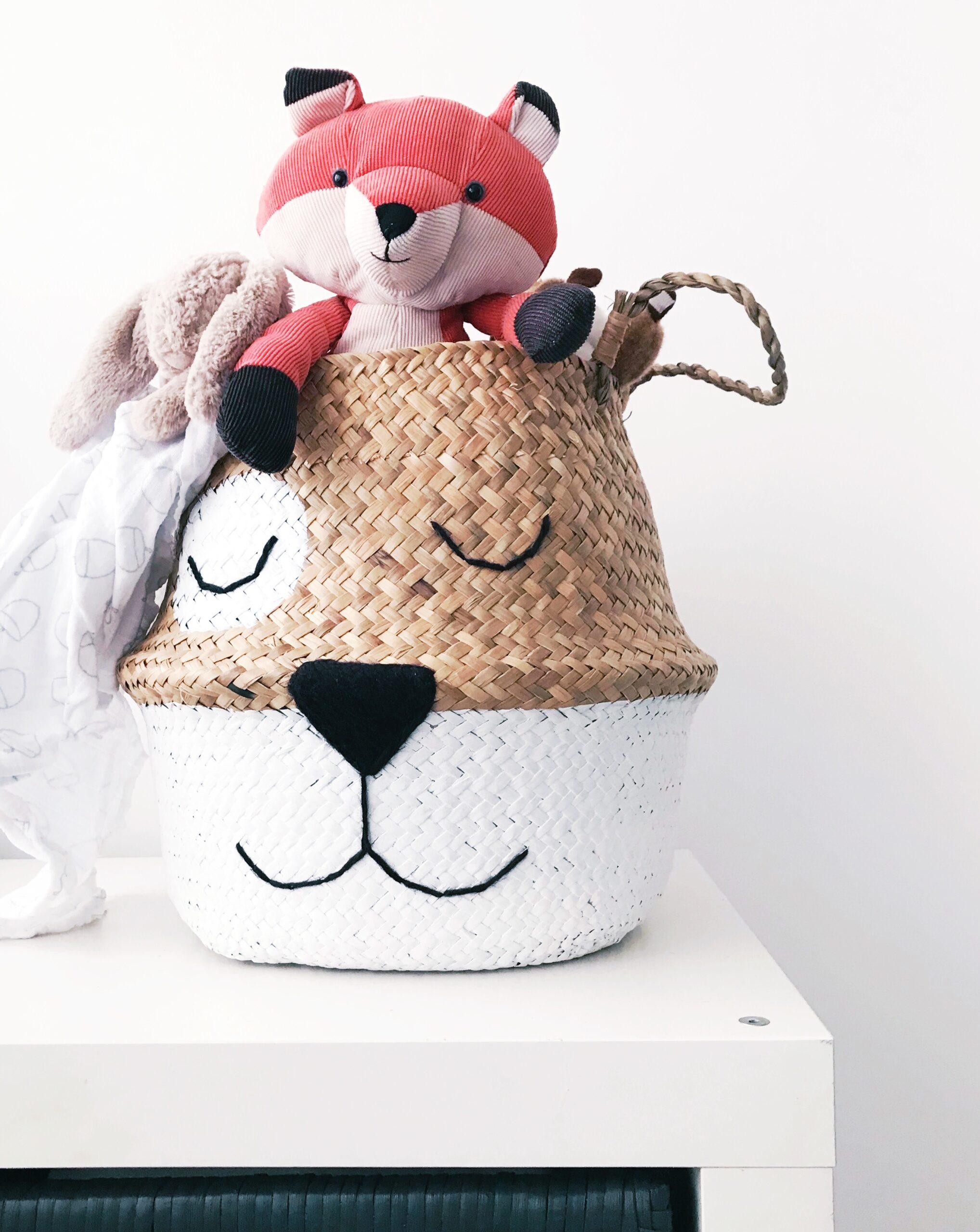 Bellybambinobasket Seagrass Basket