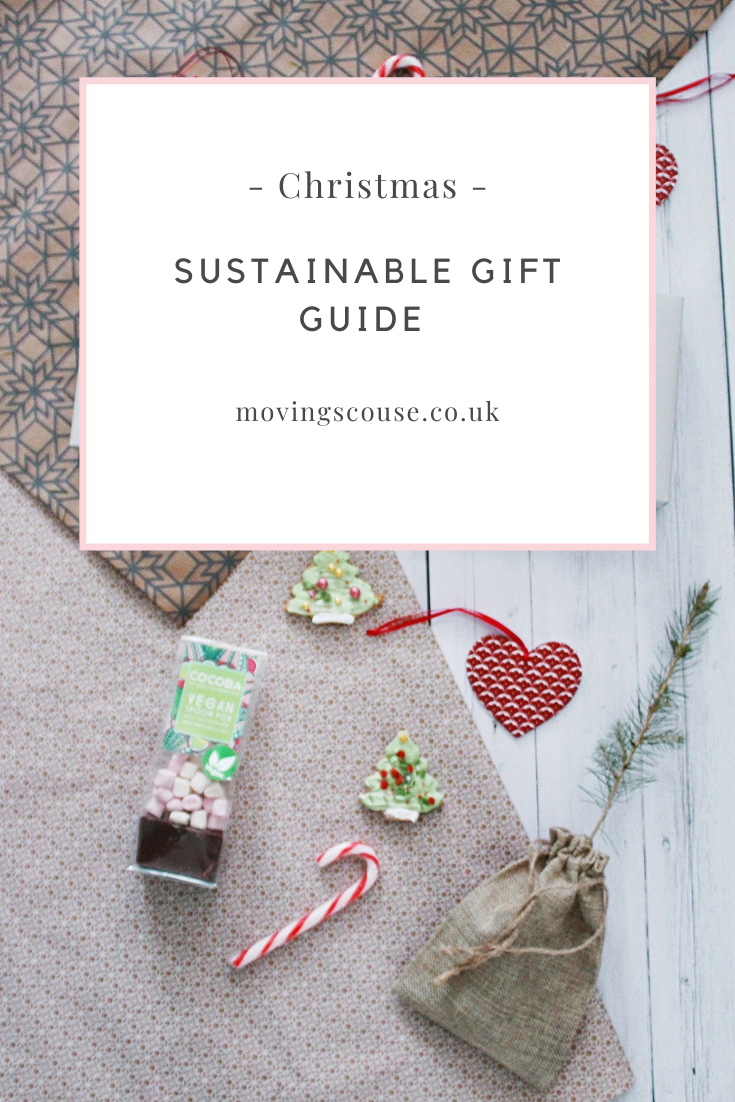 Vegan & Sustainable Gift Guide on movingscouse.co.uk