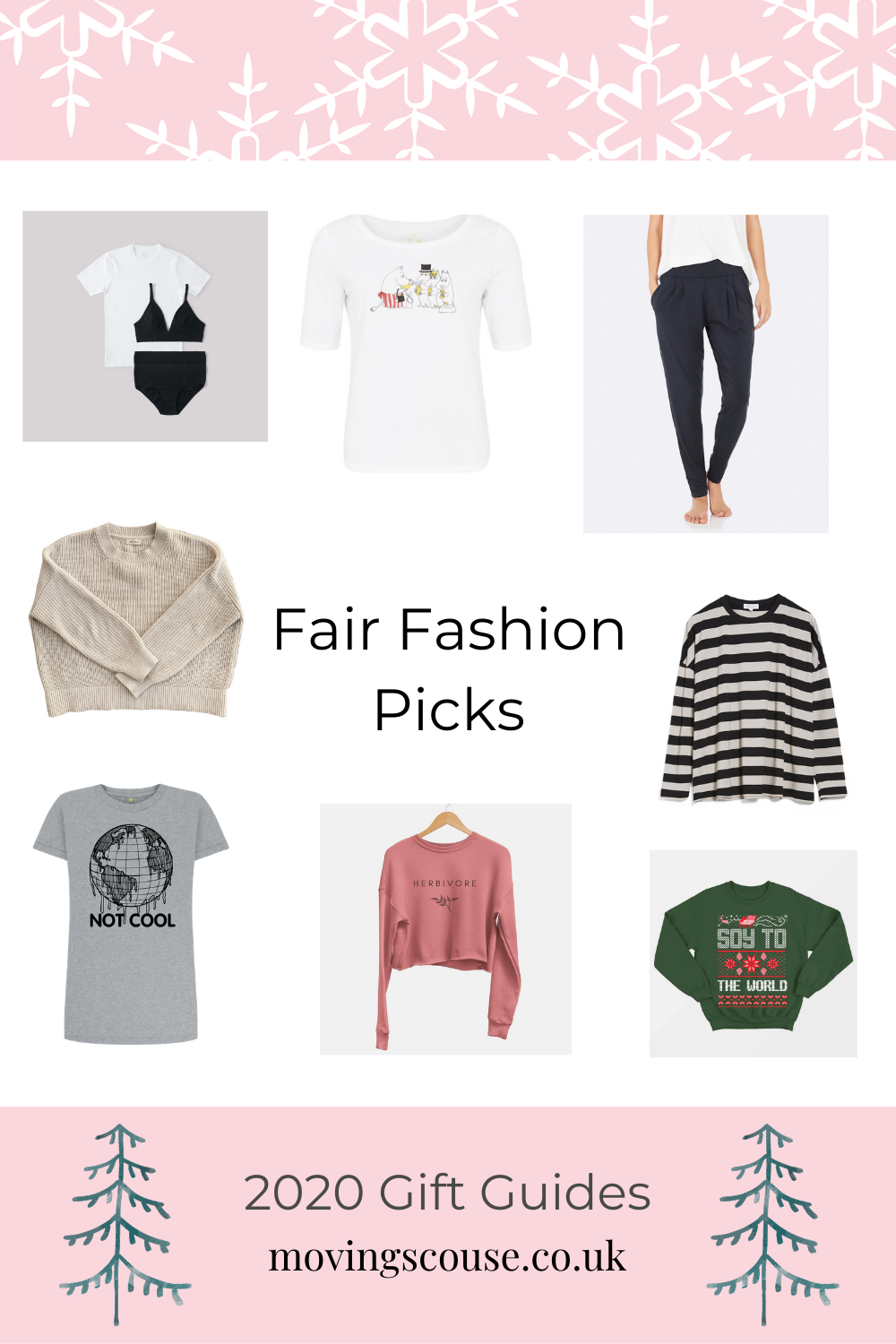 Fair & Sustainable Fashion - 2020 Christmas Gifts