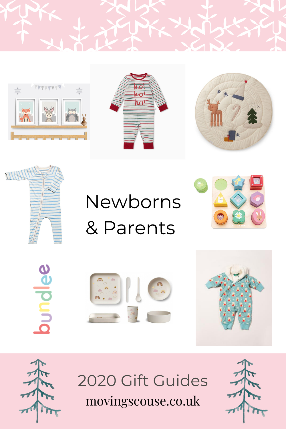 Eco Gifts for Newborns and Parents - 2020 Christmas Gifts