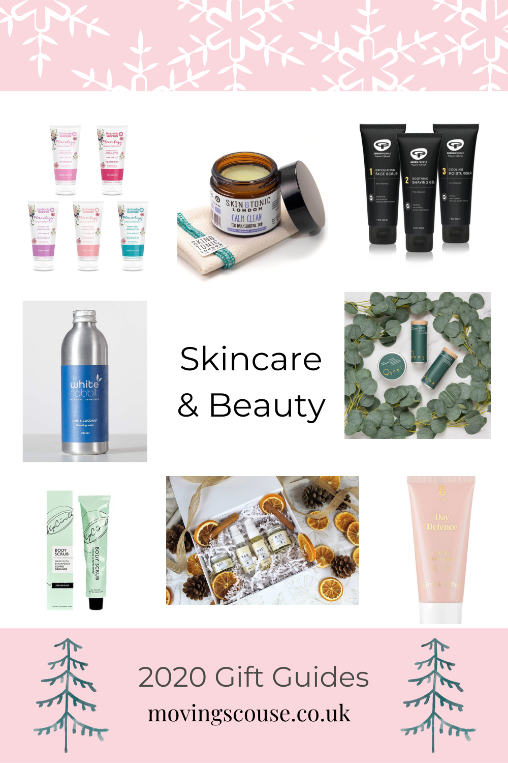 Vegan Skincare & Beauty - 2020 Christmas Gifts