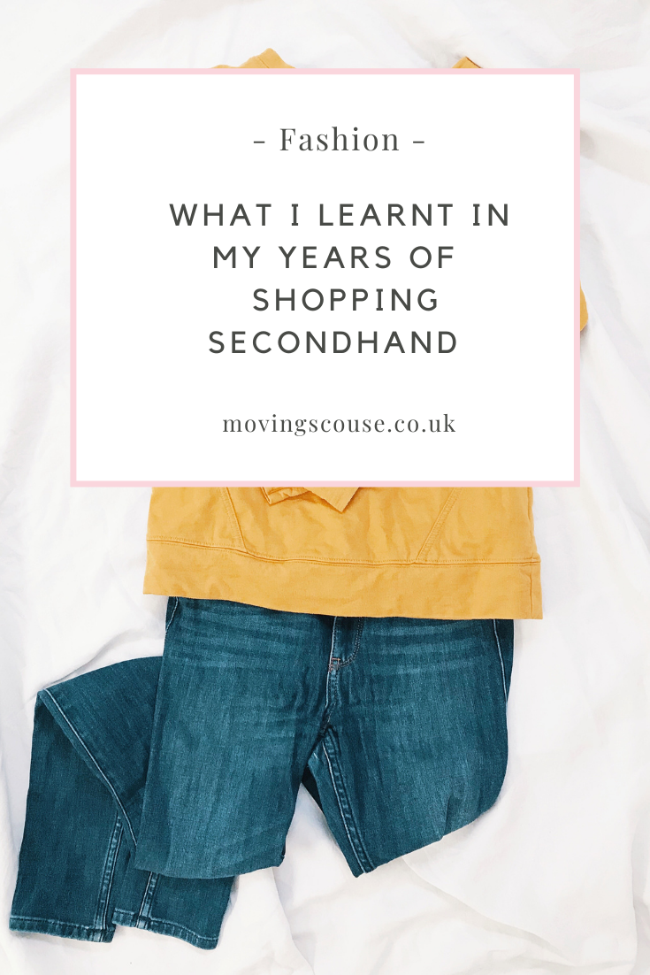 Moving Scouse - What I Learnt in my Years of Shopping Secondhand