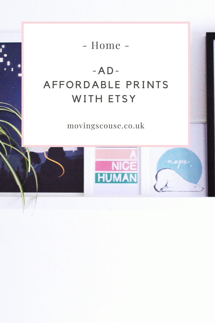 Affordable Prints with Etsy on movingscouse.co.uk
